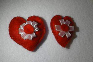 Inimioare din fetru