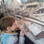 Expozitia de trenulete din gara Sinaia