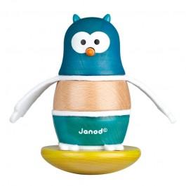 pinguin lemn