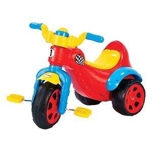 tricicleta-copii-cu-pedale-dolu-rosu
