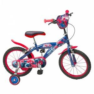 bicicleta-spiderman-40-cm-albastru