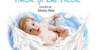 Timur si laptciul – o carte despre alaptare pe intelesul copiilor